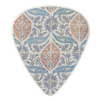 Panel of Isnik earthenware tiles Acetal Guitar Pick
