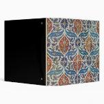 Panel of Isnik earthenware tiles Binder