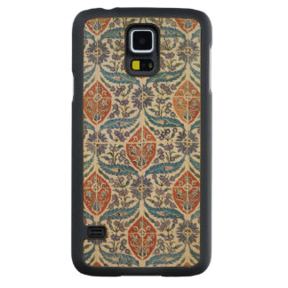 Panel of Isnik earthenware tiles Carved® Maple Galaxy S5 Slim Case