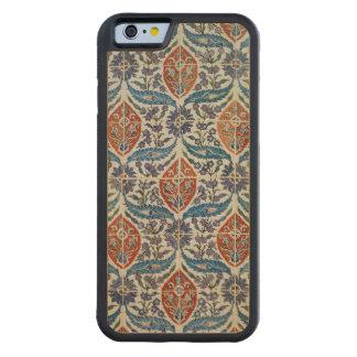 Panel of Isnik earthenware tiles Carved® Maple iPhone 6 Bumper Case