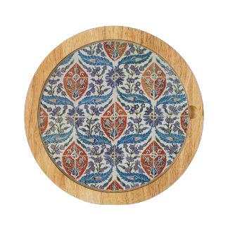 Panel of Isnik earthenware tiles Cheese Platter
