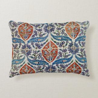 Panel of Isnik earthenware tiles Decorative Pillow