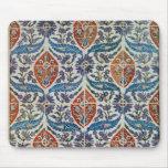 Panel of Isnik earthenware tiles Mouse Pad