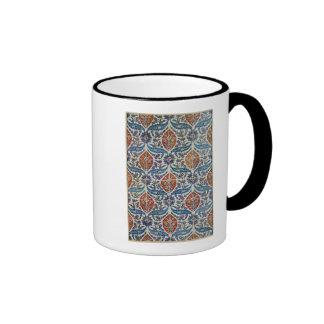 Panel of Isnik earthenware tiles Coffee Mug
