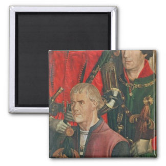 Panel of the Knights 2 Inch Square Magnet