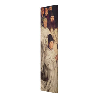 Panel of the Monks Canvas Print