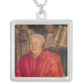 Panel of the Relics Silver Plated Necklace