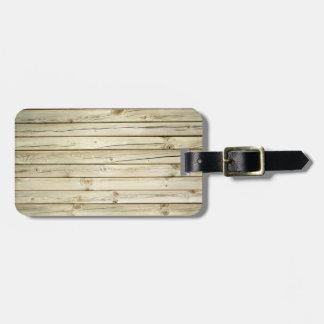 Panel Wood, Sustainable, Paneling Luggage Tag