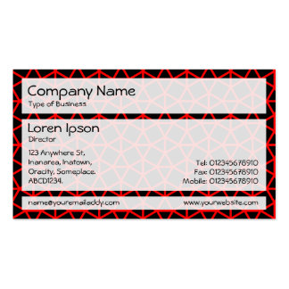 Panels 02 - Archimedes Pattern Business Card Templates
