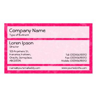 Panels 02 - Raspberry Sauce Ocean Business Cards