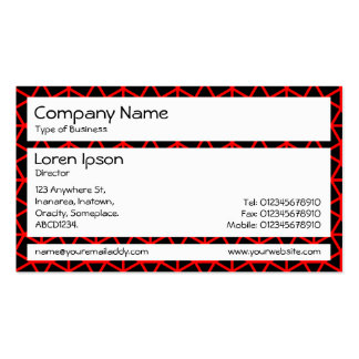Panels - Archimedes Pattern Business Cards