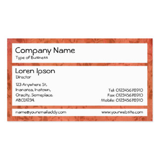 Panels - Imprint of Plants Business Card Template