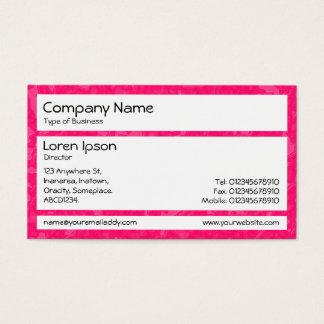 Panels - Raspberry Sauce Ocean Business Card