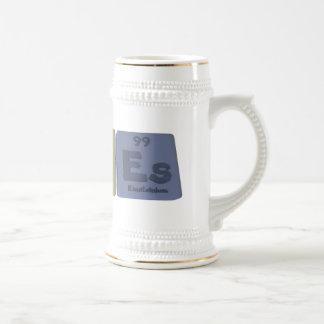 Panes-Pa-N-Es-Protactinium-Nitrogen-Einsteinium.pn Beer Stein