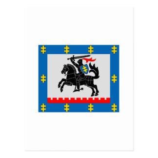 Panevezys County Flag Postcard