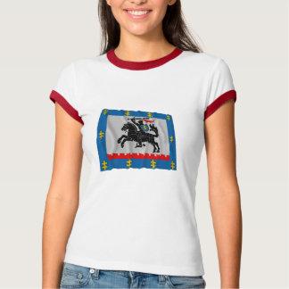 Panevezys County Waving Flag T-Shirt