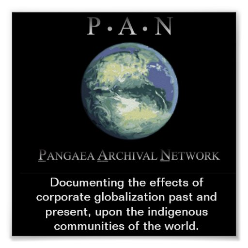 Pangaea Archival Network's Poster