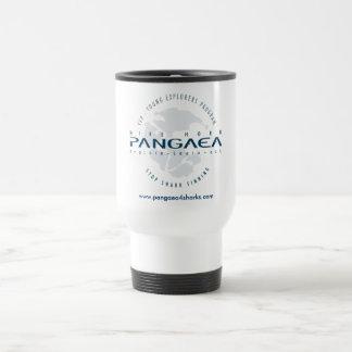 Pangaea for Sharks logo Travel Flask 15 Oz Stainless Steel Travel Mug