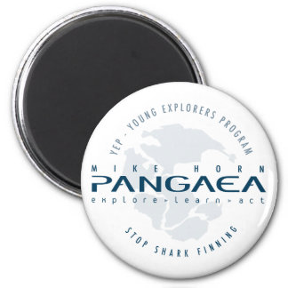 Pangaea fro Sharks logo Magnet