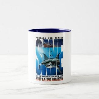 Pangaea para los tiburones AHORRA la taza