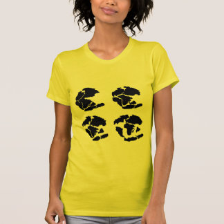 pangaea_triassic_jurassic_cretaceous tshirts
