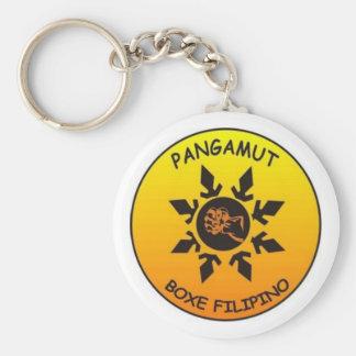 Pangamut Chaveiro Basic Round Button Keychain