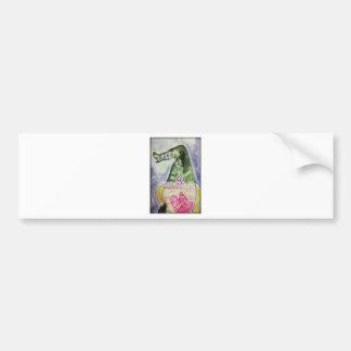 Pangea lavender macarons car bumper sticker