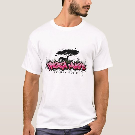 PANGEA MUSIC LOGO PINK T-Shirt