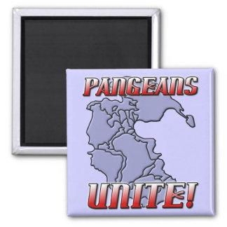 Pangea Unite Geography Magnet