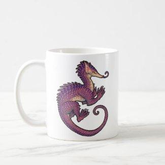 Pangolin dragon mug mug
