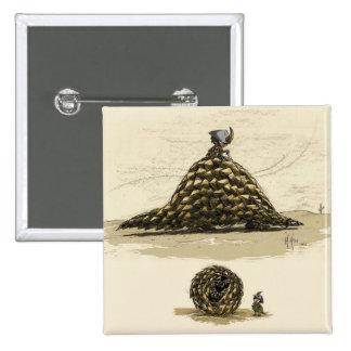 Pangolin Warrior Pin
