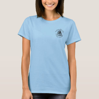 Panhandle Cake CRUMBS Blue Baby Doll T-Shirt