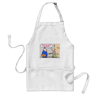 panhandler private sector stick together adult apron
