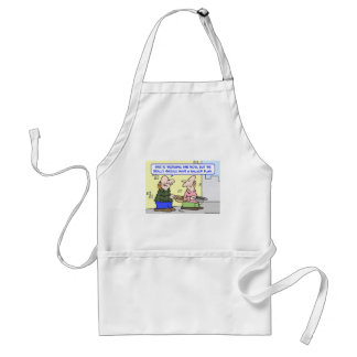 panhandlers back up plan adult apron