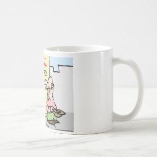 panhandlers thumb throb coffee mug