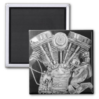 panhead 2 inch square magnet
