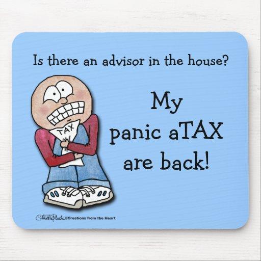 Panic aTAX! Mouse Pad