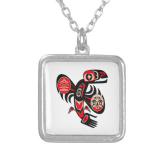 Panic Attack Silver Plated Necklace
