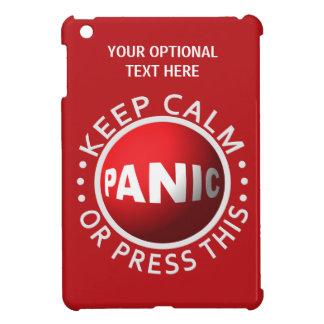 Panic Button custom cases iPad Mini Covers