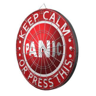Panic Button dart board