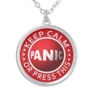 Panic Button necklace
