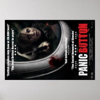 Panic Button Poster - Window
