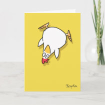 Panic Chicken by Sandra Boynton Card