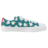 PANIC CHICKEN by Sandra Boynton Low-Top Sneakers