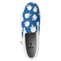 PANIC CHICKEN by Sandra Boynton Slip-On Sneakers