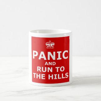 Panic Coffee Mug