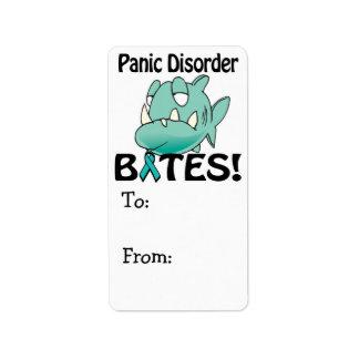 Panic Disorder BITES Label