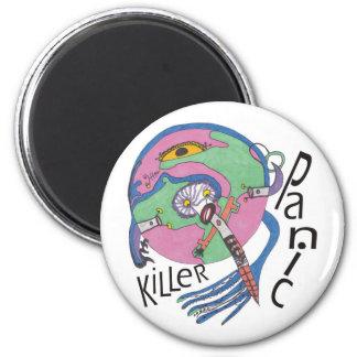 Panic killer magnet