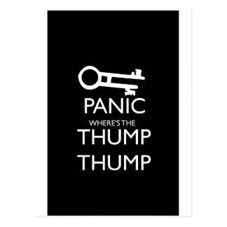 Panic Postcard