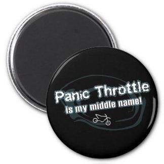 Panic Throttle Refrigerator Magnets